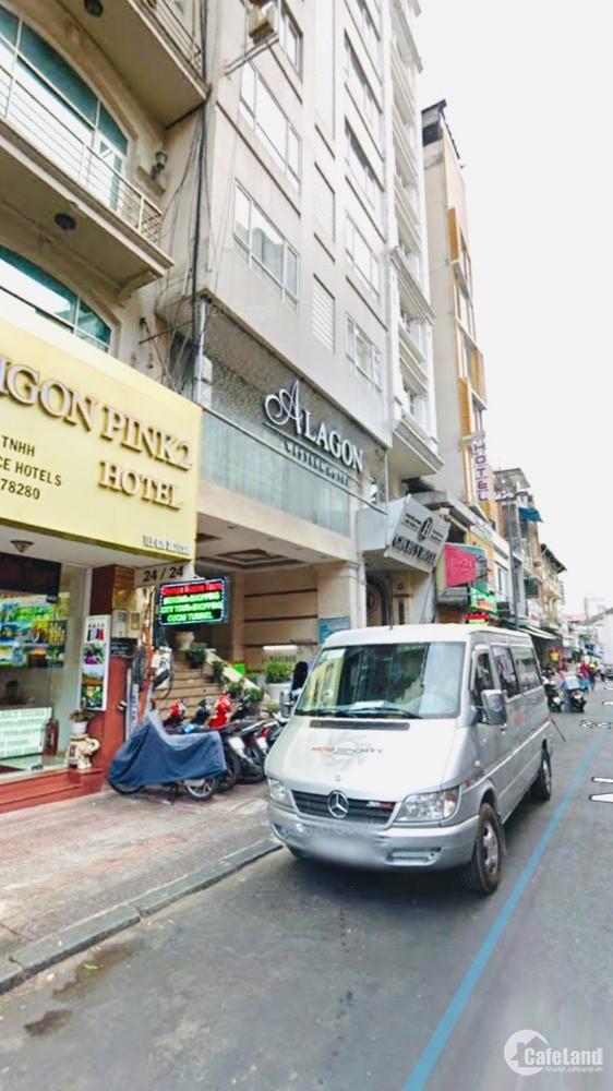 Bán Khách sạn Chợ Bến Thành, Nguyễn An Ninh, 10 tầng(4.2x21) giá 99 tỷ TL