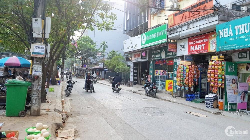 Nhà mặt phố Dịch Vọng, Cầu Giấy. Vỉa hè, oto, KD. 195m2 MT11m 26 tỷ