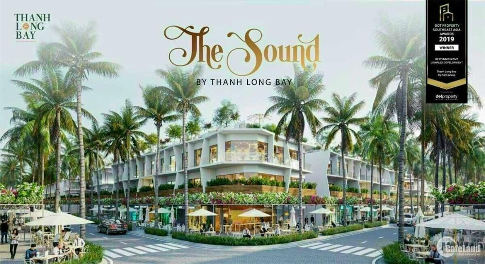 NHÀ PHỐ THƯƠNG MẠI 2 MẶT TIỀN- THE SOUND BY THANH LONG BAY