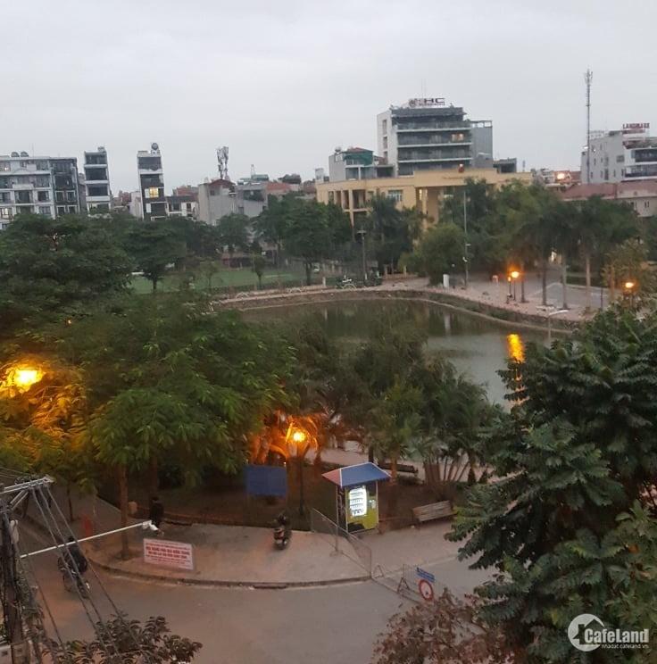 BÁN NHÀ MP TRỊNH CÔNG SƠN VIEW HỒ KINH DOANH 84M, MT 7M 0978439490