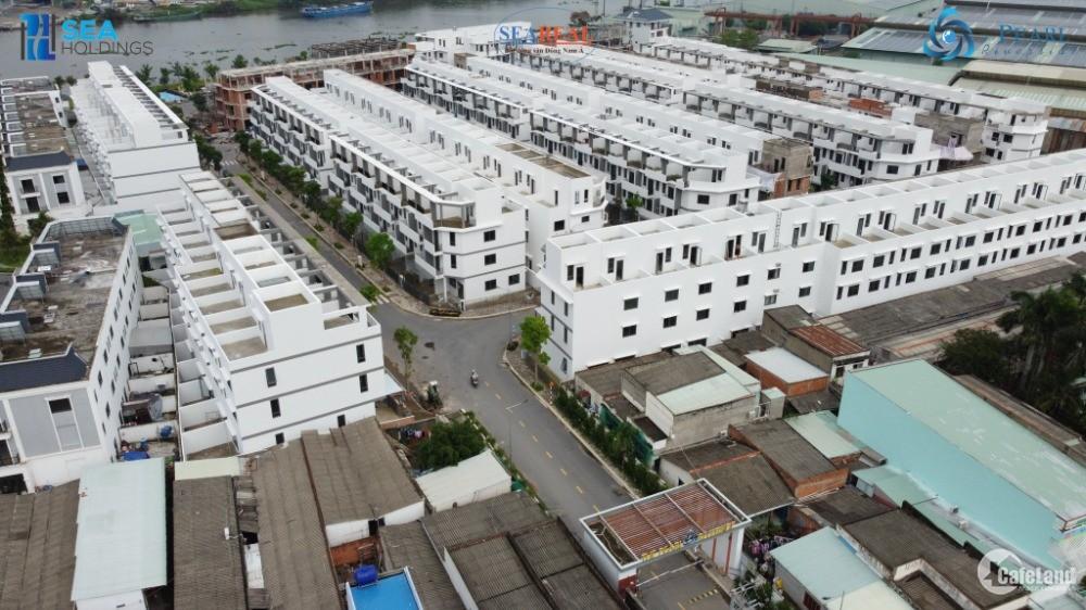 Nhà 4 tầng trong KDC cao cấp đầy đủ tiện ích tại trung tâm Bến Lức - DT: 244m2