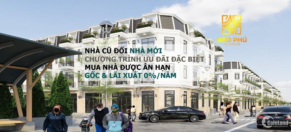 Bảo Phú Residence, KDC sinh thái hiện đại bậc nhất Q12, SHR, TT 30% nhận nhà!
