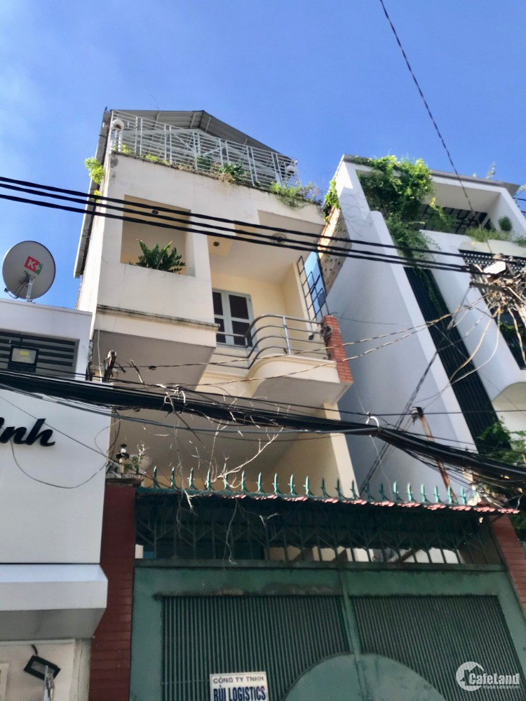 Bán nhà hẻm xe hơi 8m Đường Võ Văn Tần P5 -Q3 trệt 4 lầu giá 22 tỷ còn TL