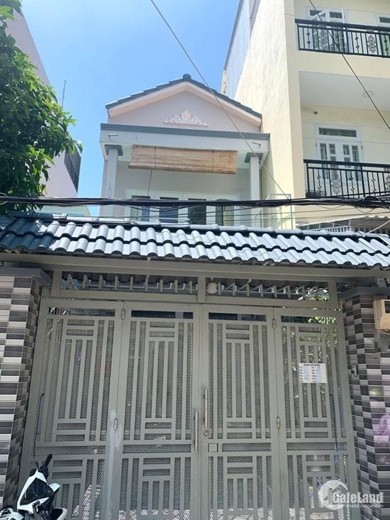 Nhà 1 Lầu,DT: 4x20m, Hẻm Xe Hơi Huỳnh Tấn Phát, p.PT, Quận7