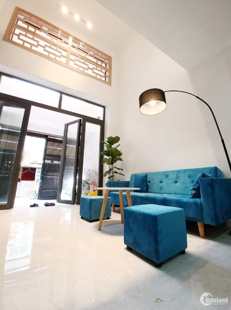 Nhà (48m2/lửng, lầu BTCT) hẻm đường Dương Bá Trạc P2 Q8