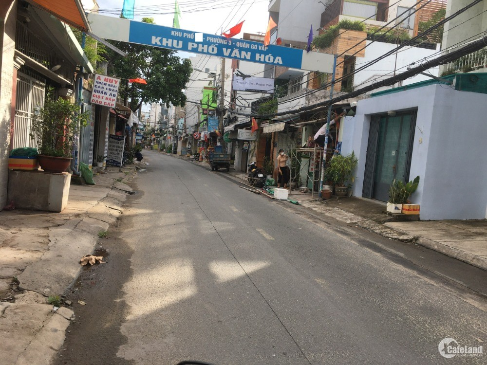 Cần bán GẤP nhà hẻm Nguyễn Văn Công, P3, Gò Vấp, 4x14m, 1 trệt, 1 lửng, 5.5 tỷ
