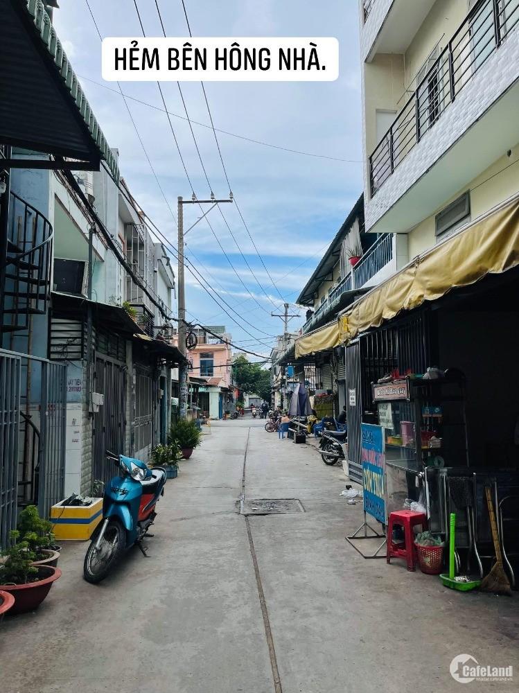 Góc 2 Mặt tiền 12M ngay Aeon Tân Phú, 5 x 20, đang cho thuê căn hộ