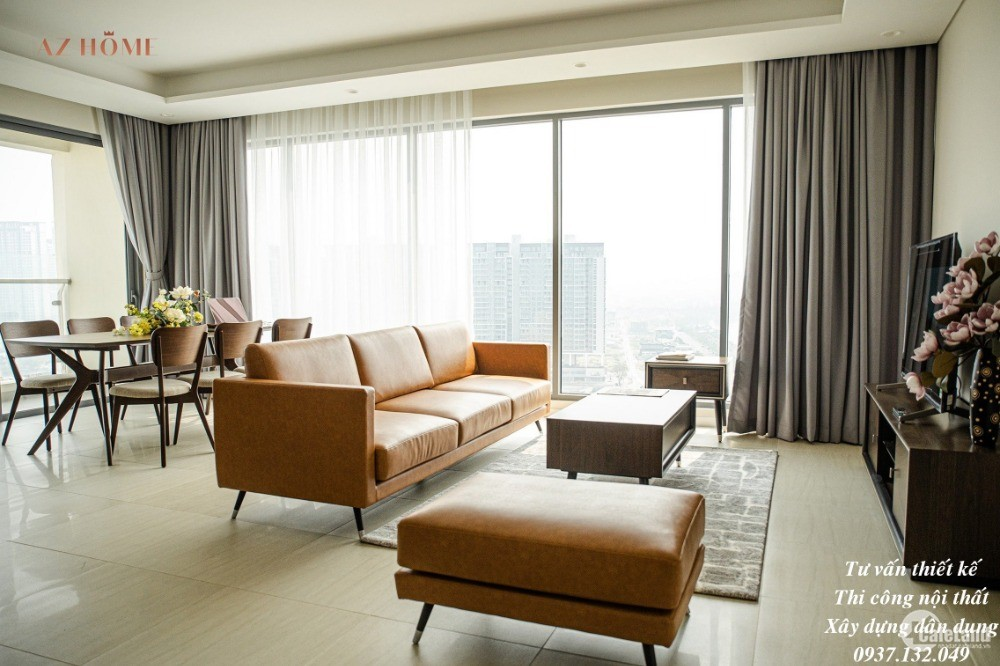 Cho thuê  căn góc GH-07  Golden  House - Sunwah Pearl-  Diện tích 117,20m2, 3PN