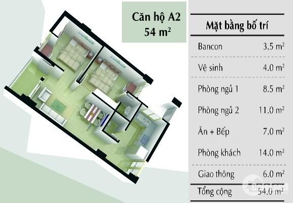 Cho thuê căn hộ lầu 5, B1 Trường Sa,  sát Thảo Cầm Viên 2PN, 2wc,