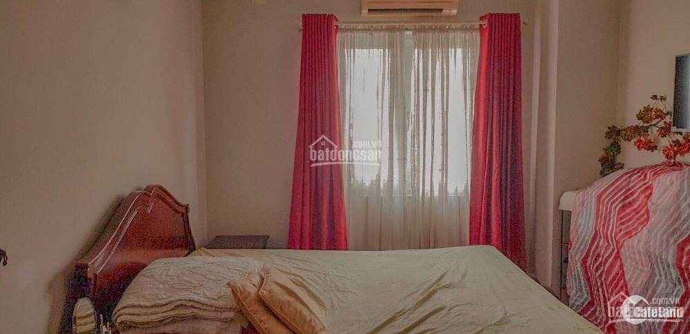 Cho thuê  căn góc lầu 6 chung cư Tôn Thất Thuyết, 62m2, 2PN, đủ nội thất