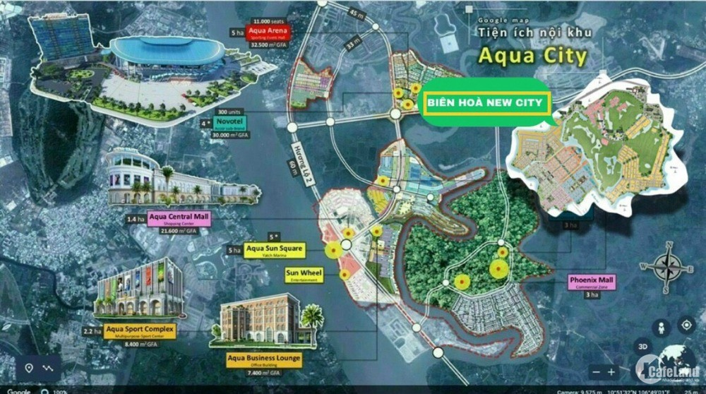 Biên Hoà New City, liền kề Q9, mở bán khu Biệt thự đồi, Giá 20 Triệu/ m2, CK15%
