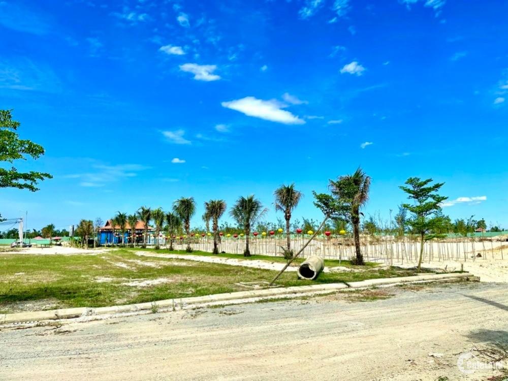 Ra đi lô đất ven Sông Cổ Cò, phía Nam Đà Nẵng, dt 127m2, lh 0799912308  Nằm ngay
