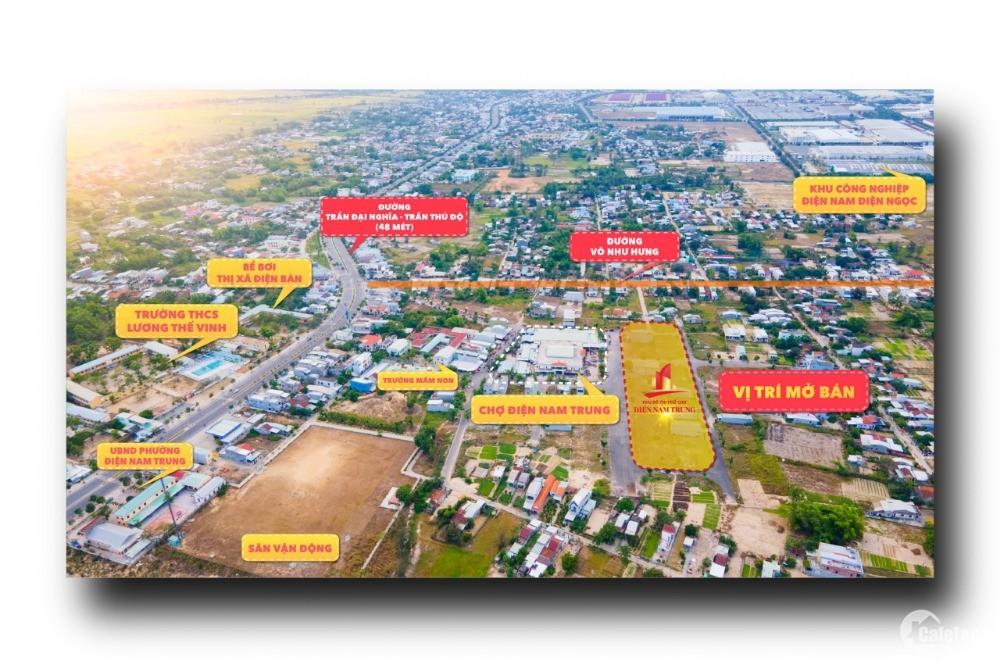 Nên hay không nên mua đất khu phố chợ Điện Nam Trung vào thời điểm này ???