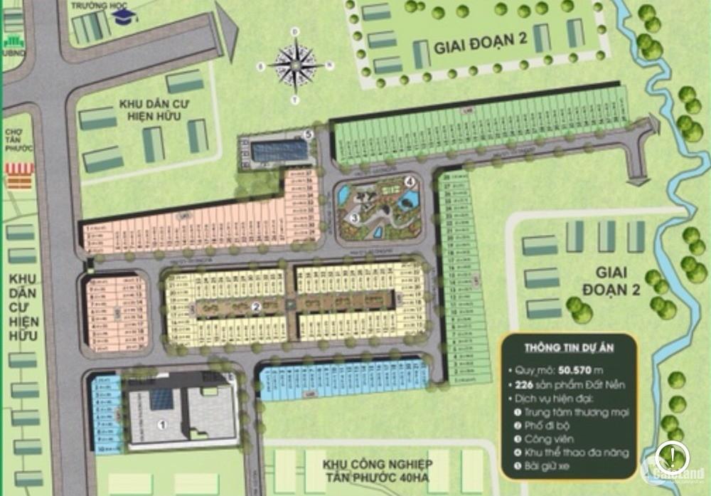 Chỉ với 300tr đã có thể sở hữu đất nền thổ cư khu công nghiệp Đồng Phú