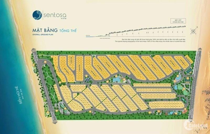 Biệt thự biển Sentosa Villas - Mũi Né, chỉ từ 16 triệu/ m2, Sở hữu lâu dài