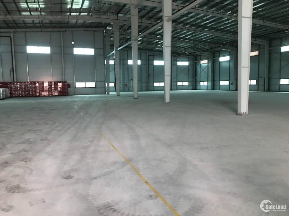 Cho thuê xưởng 2600m2 KCN Yên Mỹ Hưng Yên, PCCC tự độngvào được ngay