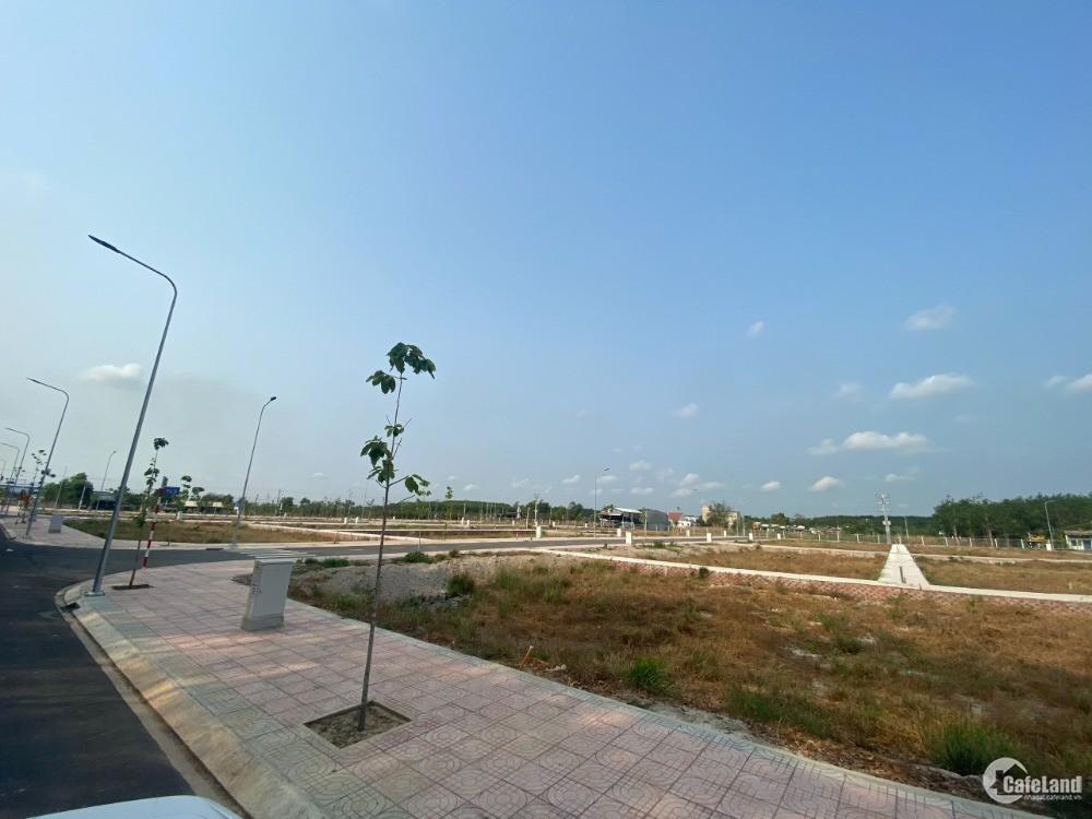 Đất chợ Trừ Văn Thố,hỗ trợ ngân hàng,đường nhựa 15m,kí công chứng sang tên ngay
