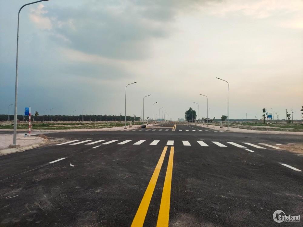 Golden Future City Lai Uyên, Bàu Bàng 80m2 700 triệu, thổ cư 100%, đường nhựa