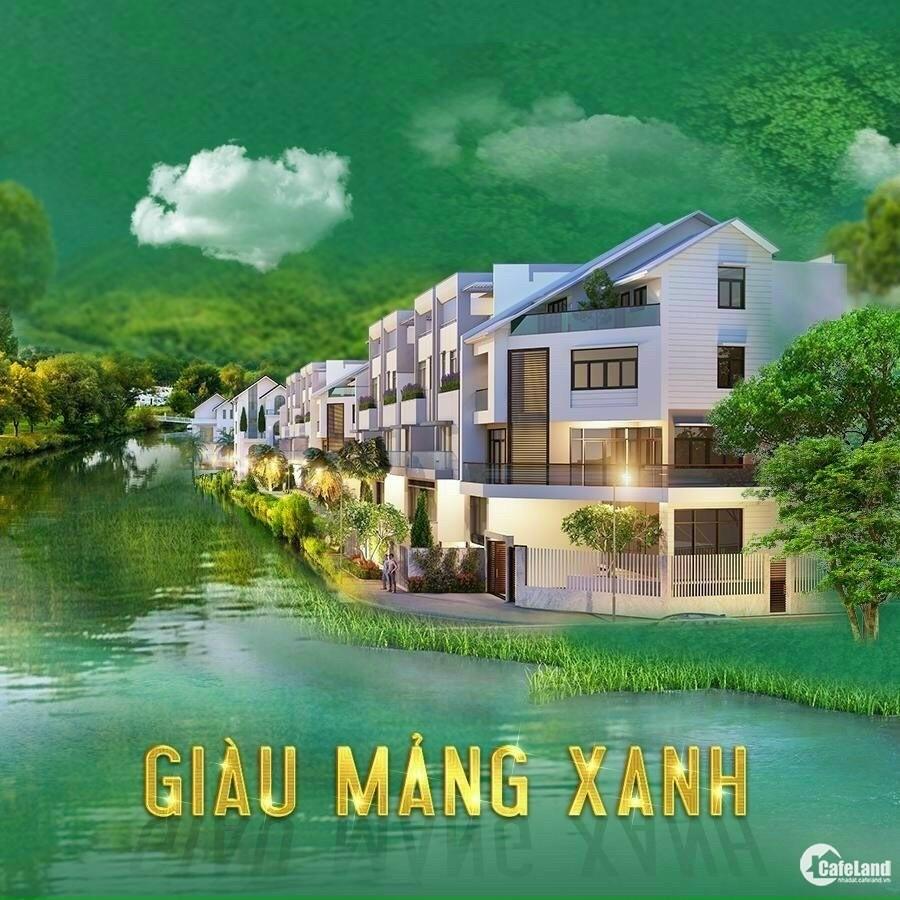 Biên Hoà New City - Nền Biệt thự gần khu thương mại, giá 8,9 tỷ, MT đường 24m