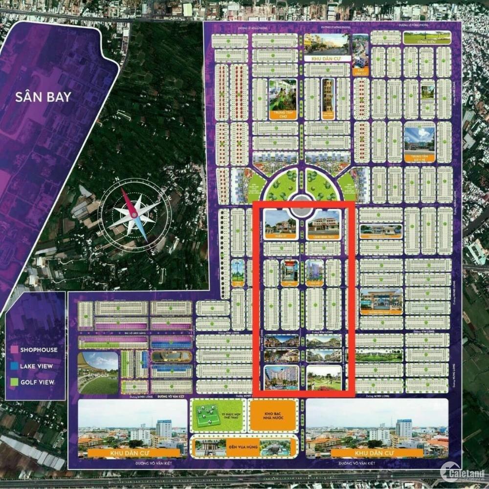 bán đất thổ cư 2 mặt tiền lộ 25m