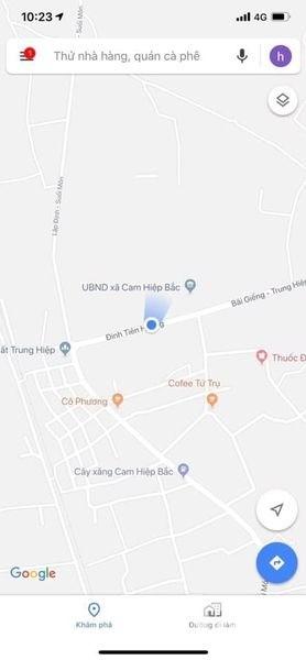Chính chủ cần tiền bán nhanh lô đất đường Đinh Tiên Hoàng nối dài LH: 0909277255