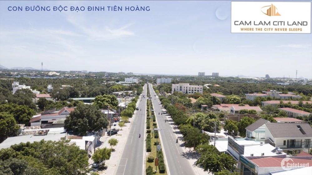 Bán đất giá rẻ thổ cư MT Đinh Tiên Hoàng, Cam Lâm- Khánh Hòa.LH: 0909277255