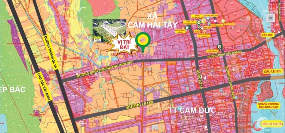 Đất Nền Cam Hải Tây - Vị Thế 2-3 Mặt Tiền - Nhận Ngay Chiết Khấu 3%