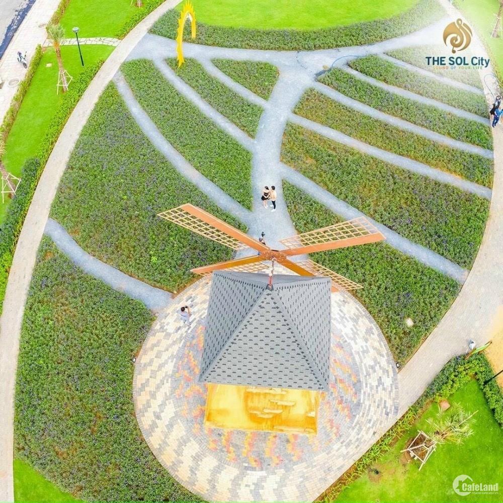 Bán đất nền KDC The Sol City ngay MT Đường lớn cách QL 1A 3km có SHR