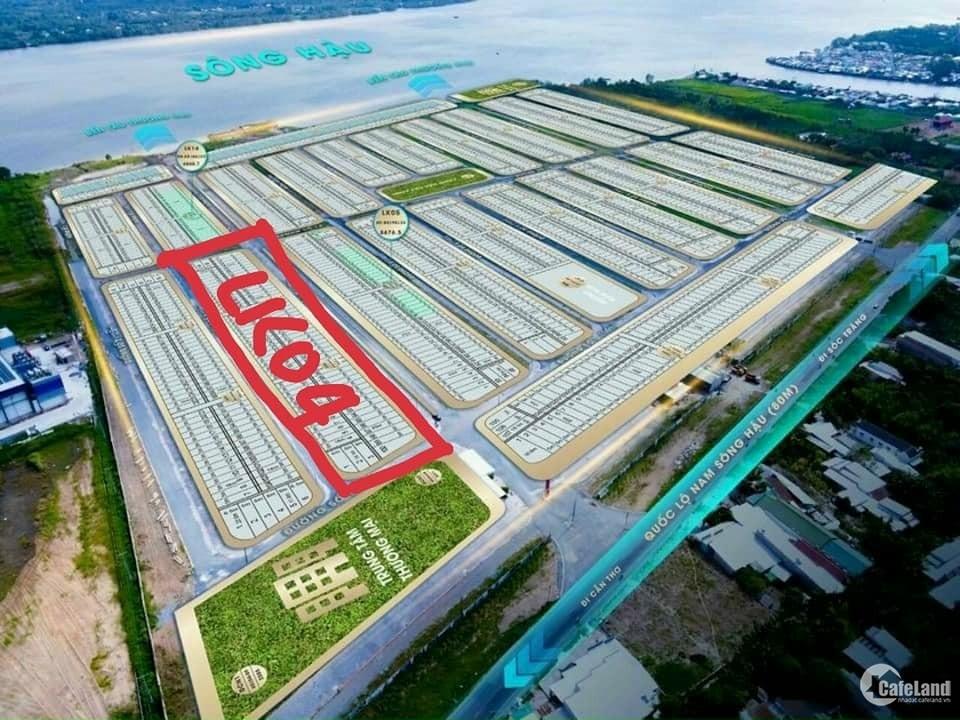 Bán đất nền trục chính đã có sổ đỏ Vạn Phát Sông Hậu - Fenix City 0939606890