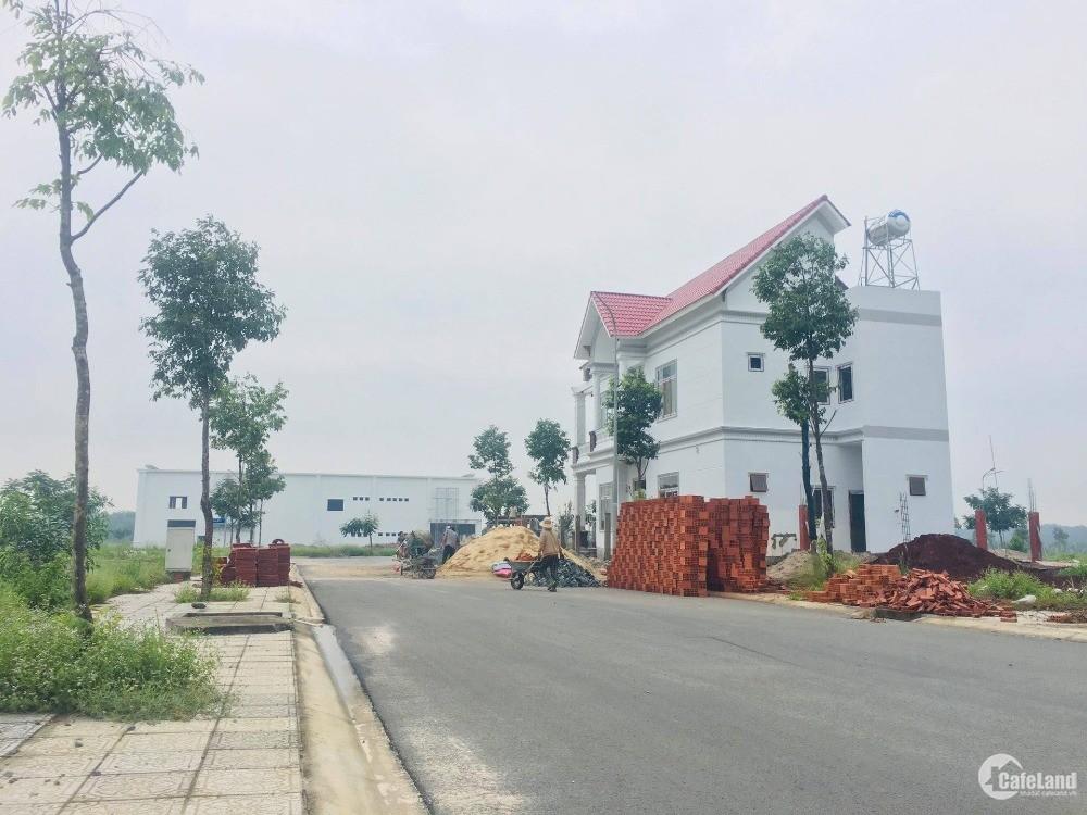 Đất Chơn Thành - giá rẻ - sổ hồng sẵn - đối diện khu công nghiệp Minh Hưng