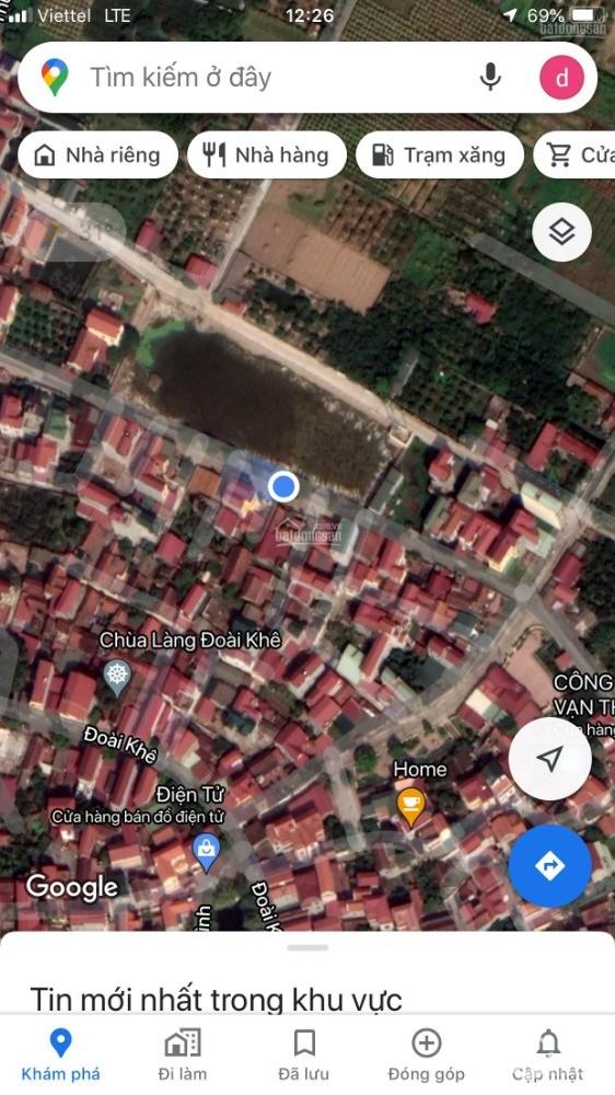 Chính chủ bán đất đường Đoàn Kết, thôn Đoài Khê, xã Đan Phượng, huyện Đan Phượng