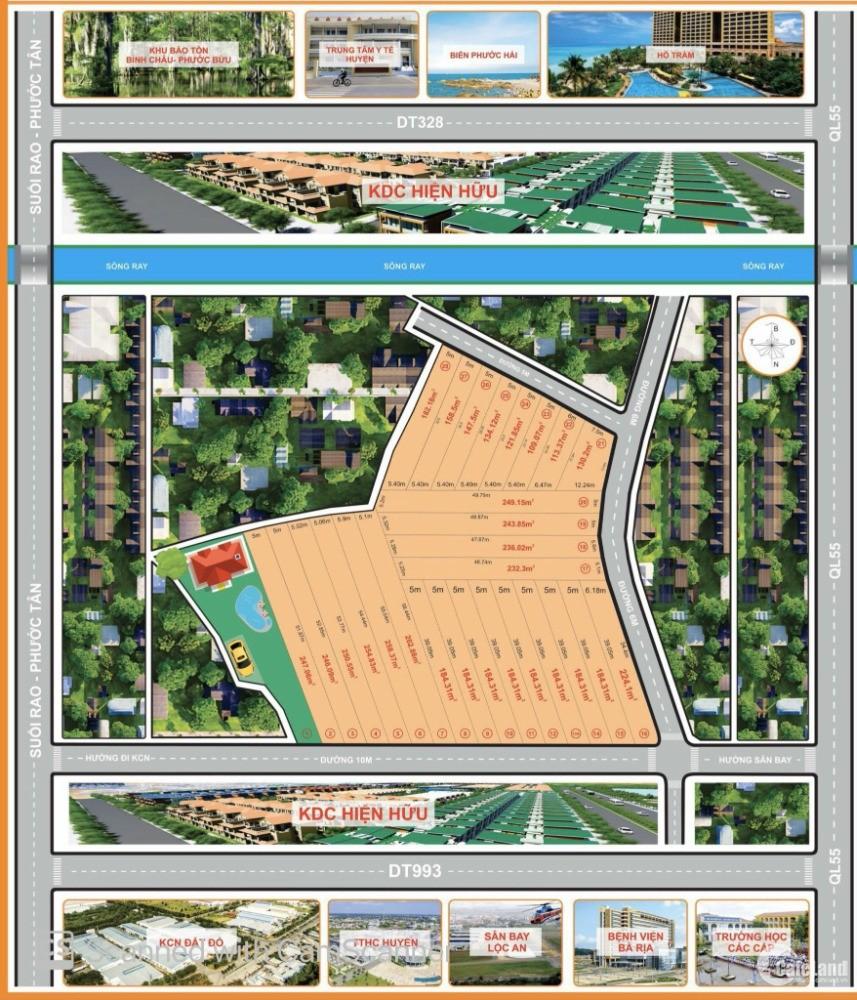 Bán đất diện tích 150m2 giá 600 triệu tại Xã Láng Dài, thị trấn Đất Đỏ, BR-VT