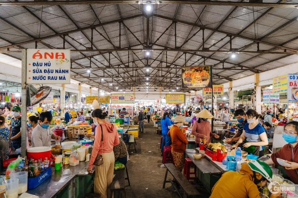 Cần bán lô đất ngay chợ mới TX Điện Bàn, đường nhựa 27m, sổ đỏ đầy đủ