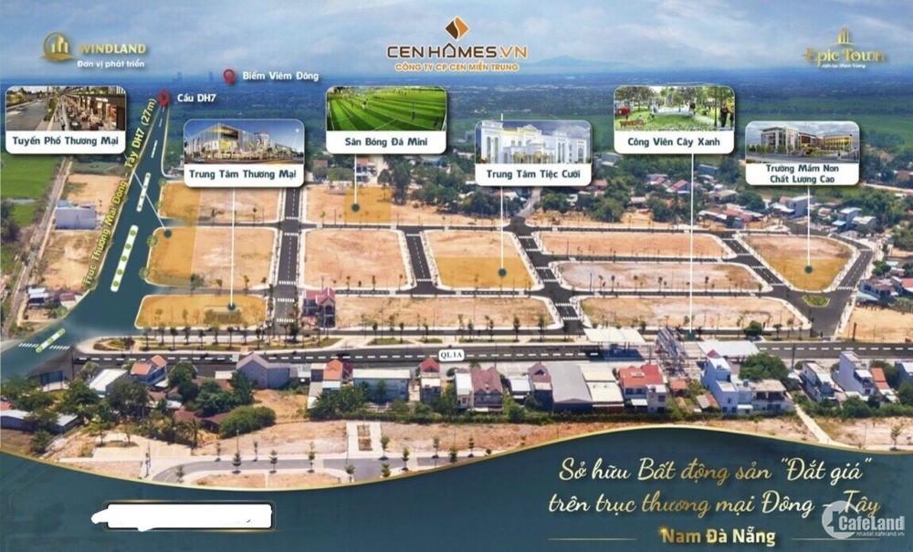 Cơ Hội Mua Vị TRí ĐẸP NHẤT siêu dự án Epictown phía Nam Đà Nẳng - Trục Chính Thô