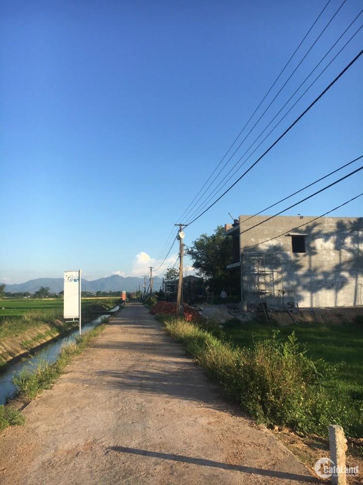 Cơ hội tốt sở hữu đất điện tiến, view đồng lúa, đường 4m, hướng Đông mát mẻ