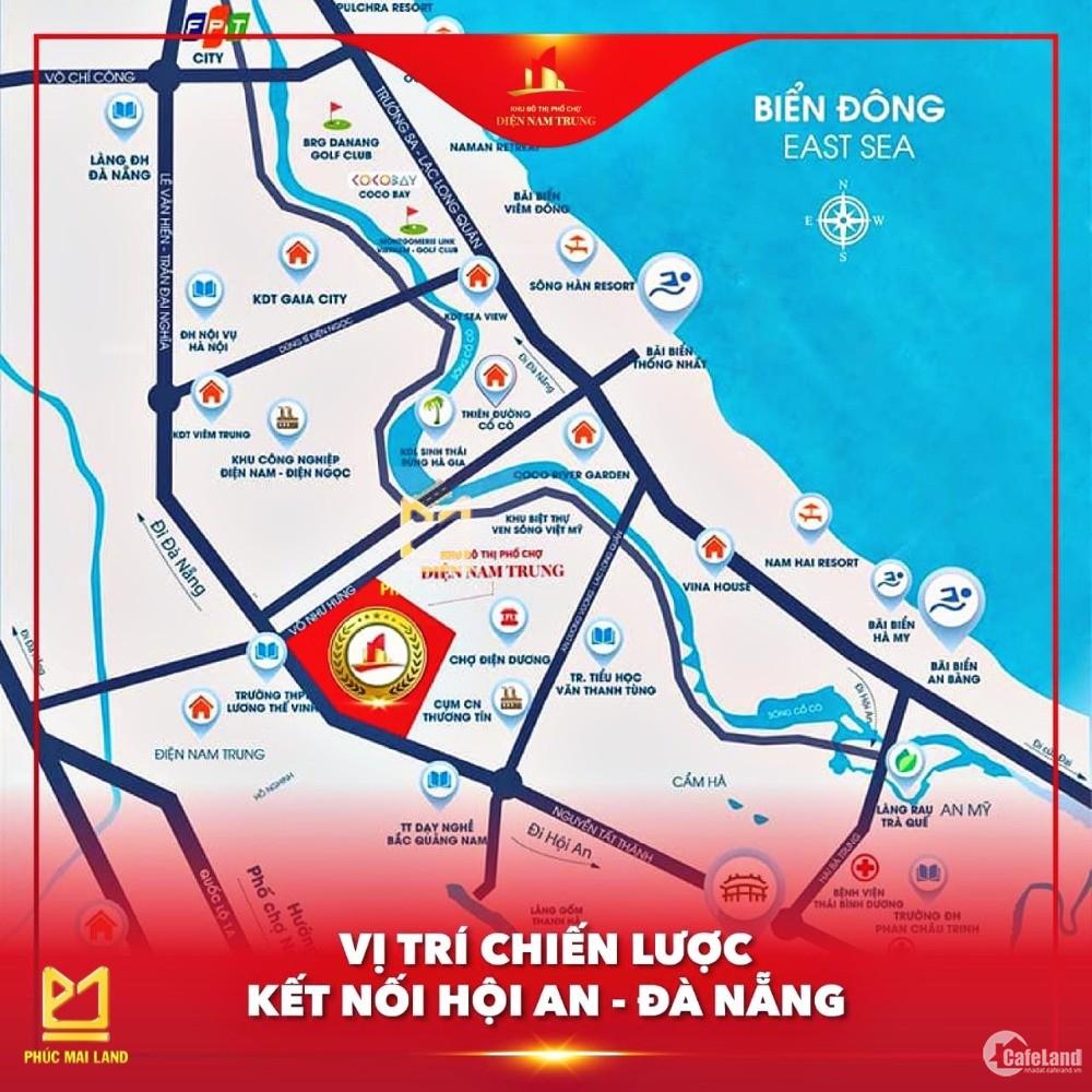 khu phố chợ Điện Nam Trung nơi an cư thịnh vượng - đầu tư phát triển