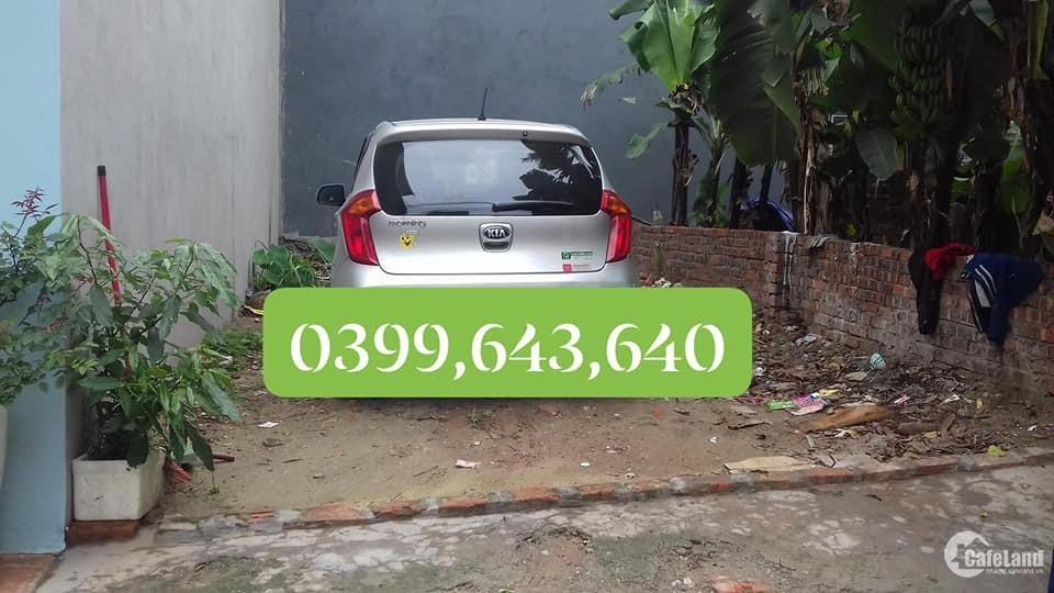 Chính chủ bán Nhanh Mảnh Đất 50m2 tại Đa tốn, ô tô vào  Cách đường chính 40m
