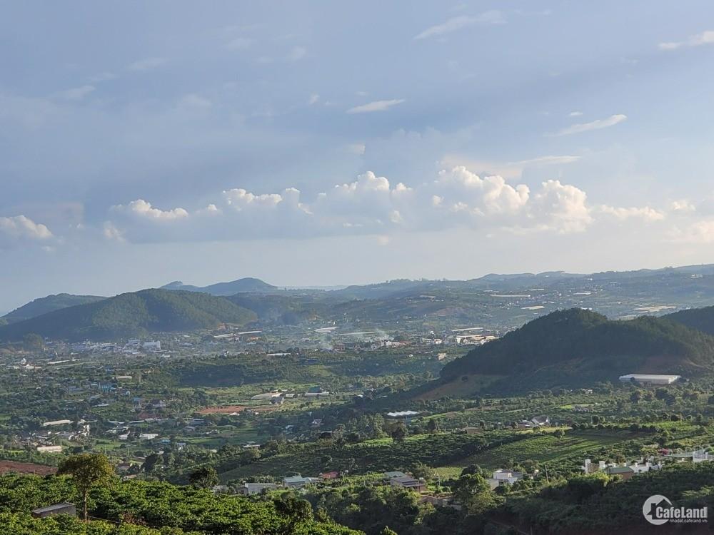 đất nghỉ dưỡng ven tp đà lạt, view đẹp diện tích trên 300m2 có thổ cư sẵn