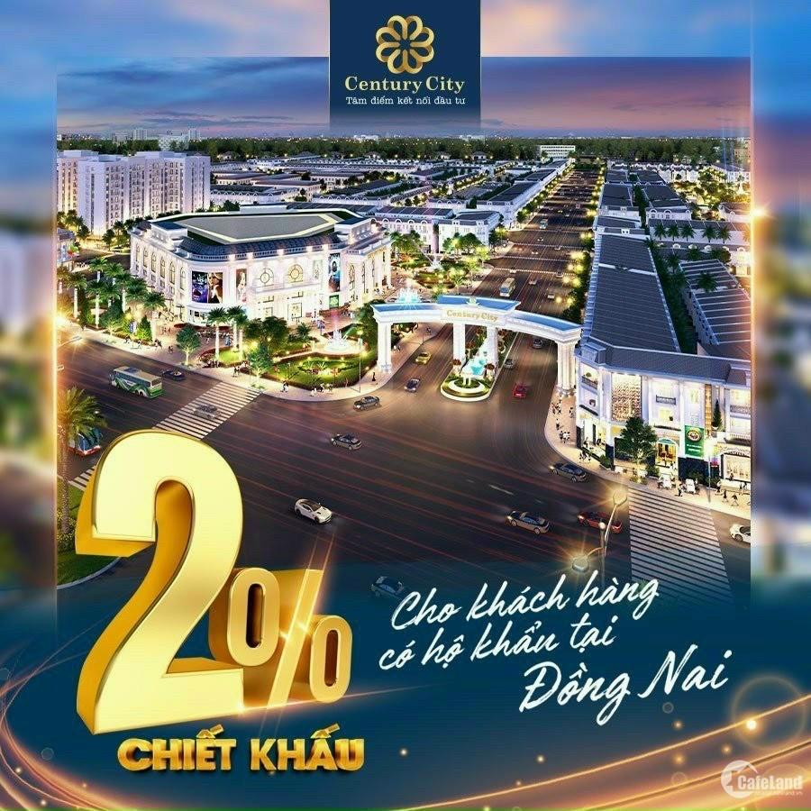 Khu Đô Thị Century City Trung Tâm Sân Bay Long Thành Đồng Nai