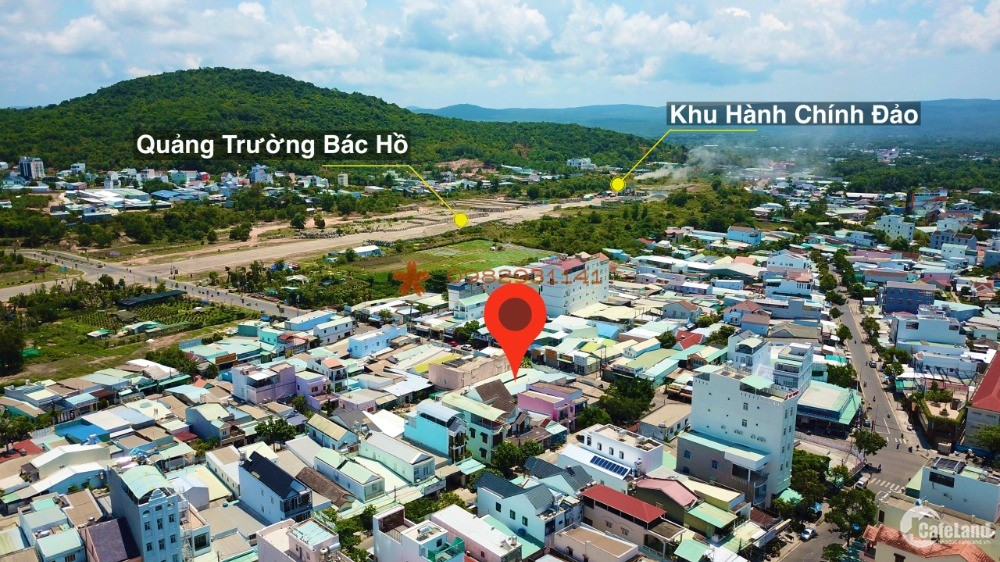 Bán mảnh đất 349m mặt tiền đường Hùng Vương TP Phú Quốc
