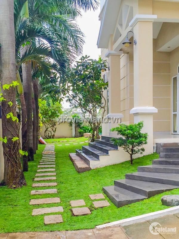 Bán biệt thự Thảo Điền Thủ Đức, Nguyễn Văn Hưởng, 525m2, 1 trệt + 2 lầu