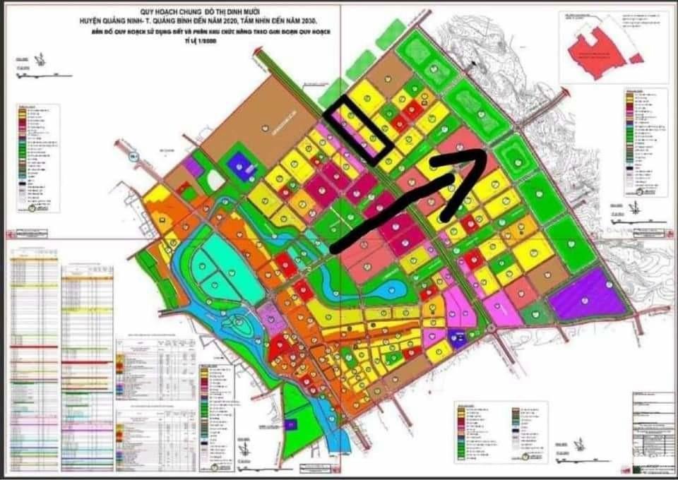 Khu đô thị mới giáp quốc lộ ven biển Hải Ninh Quảng Bình