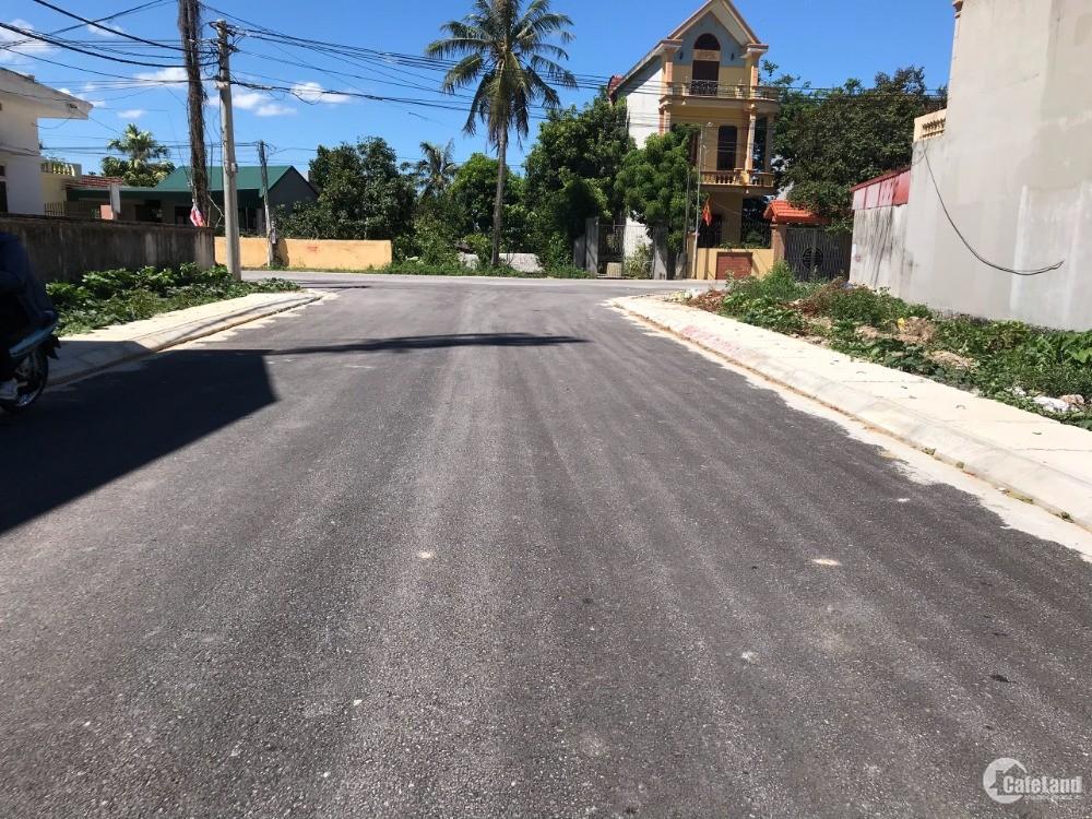 Cần bán  lô đất đấu giá ven thành phố Thanh Hóa, lối đi vào dự án của SunGroup