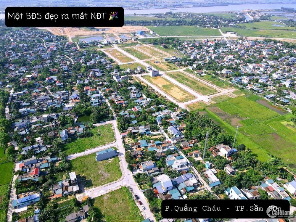 Cần Tiền Bán Nhanh Lô Đất Nền Phường Quảng Châu Thanh Phố Sầm Sơn, Gía  Rẻ