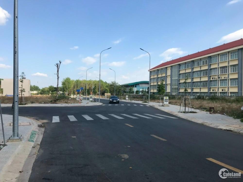 Bán đất tại phường Phú Chánh mặt tiền đường  DT742.
