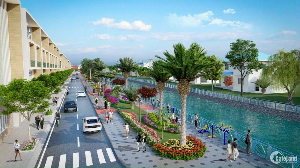 Đất nền mặt tiền view công viên Thoại Sơn An Giang