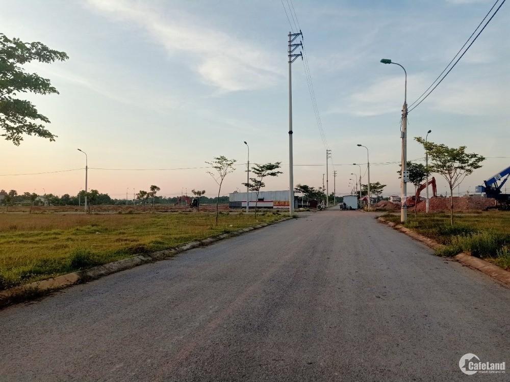 Bán nhanh lô đất đối diện bệnh viện Quốc Tế Sao Mai.