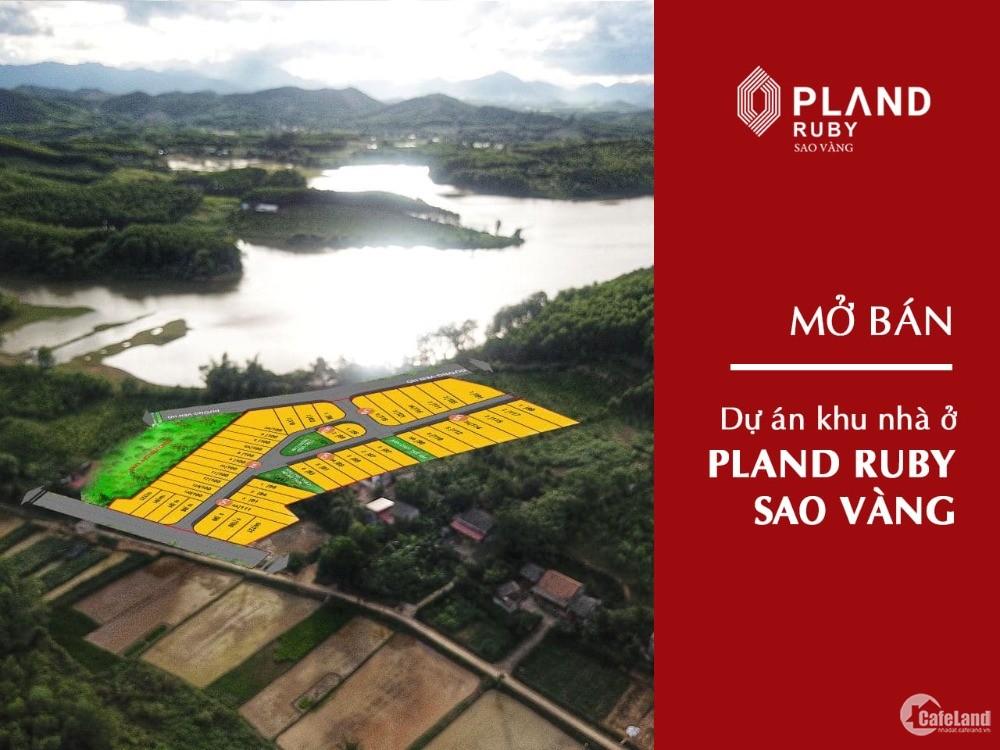 PLAND RUBY SAO VÀNG - CHỈ TỪ 4TR/M2 - SỞ HỮU ĐẤT NỀN THANH HOÁ -SỔ ĐỎ VĨNH VIỄN