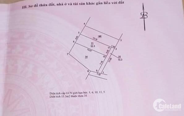 Bán Đất Phố Đại Linh, Trung Văn, 52m mặt tiền 4m, giá 3 tỷ 75: 0936552879
