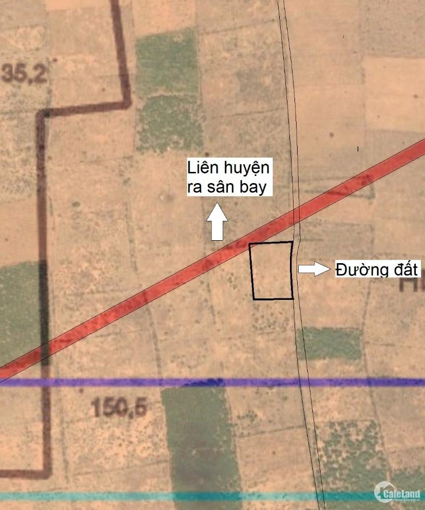 [SIÊU PHẨM] Hòa Thắng ngay mặt liên huyện, vuông vức có đường hiện oto hiện hữu